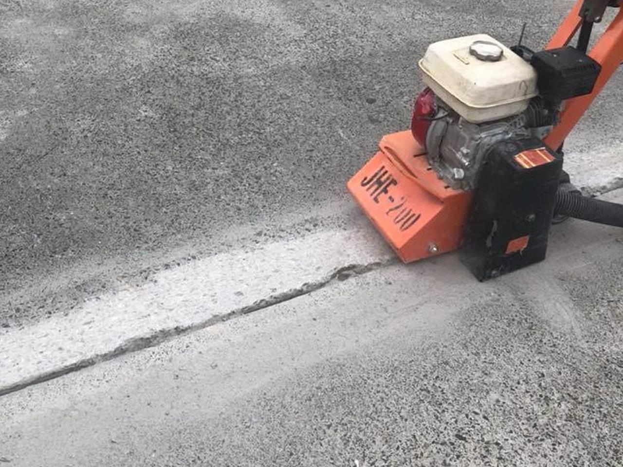 concrete grinding trip hazard removal