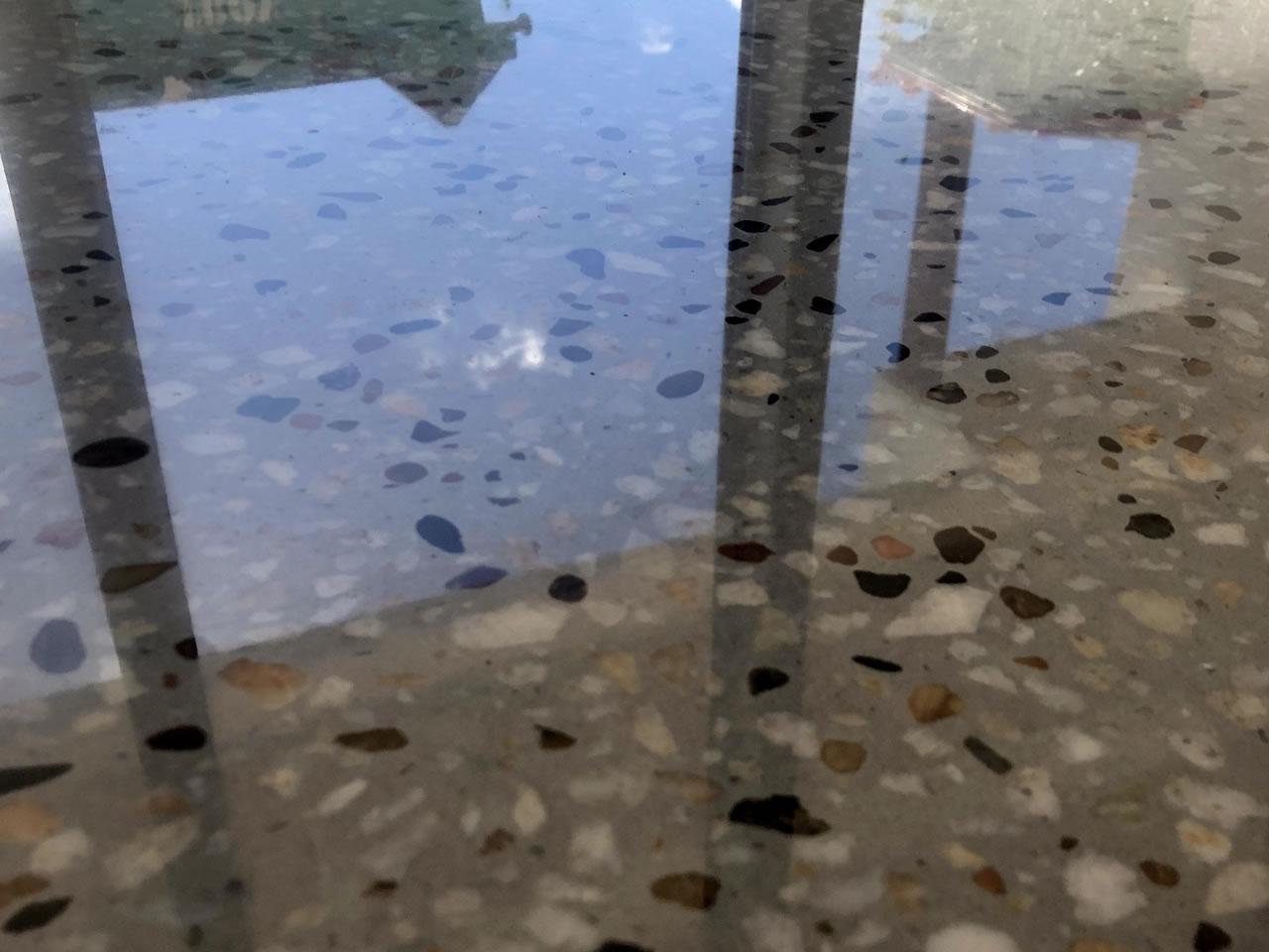polished concrete floor gold coast