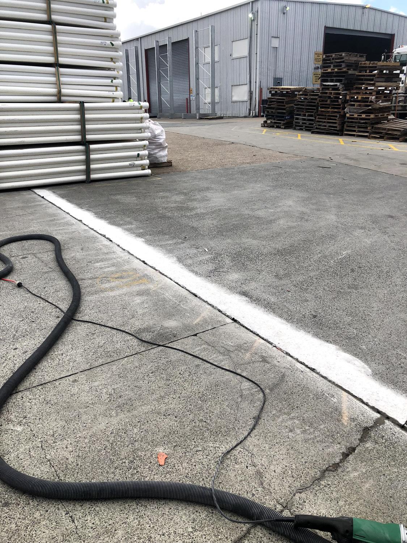 concrete driveway ridge grinding gold coast brisbane